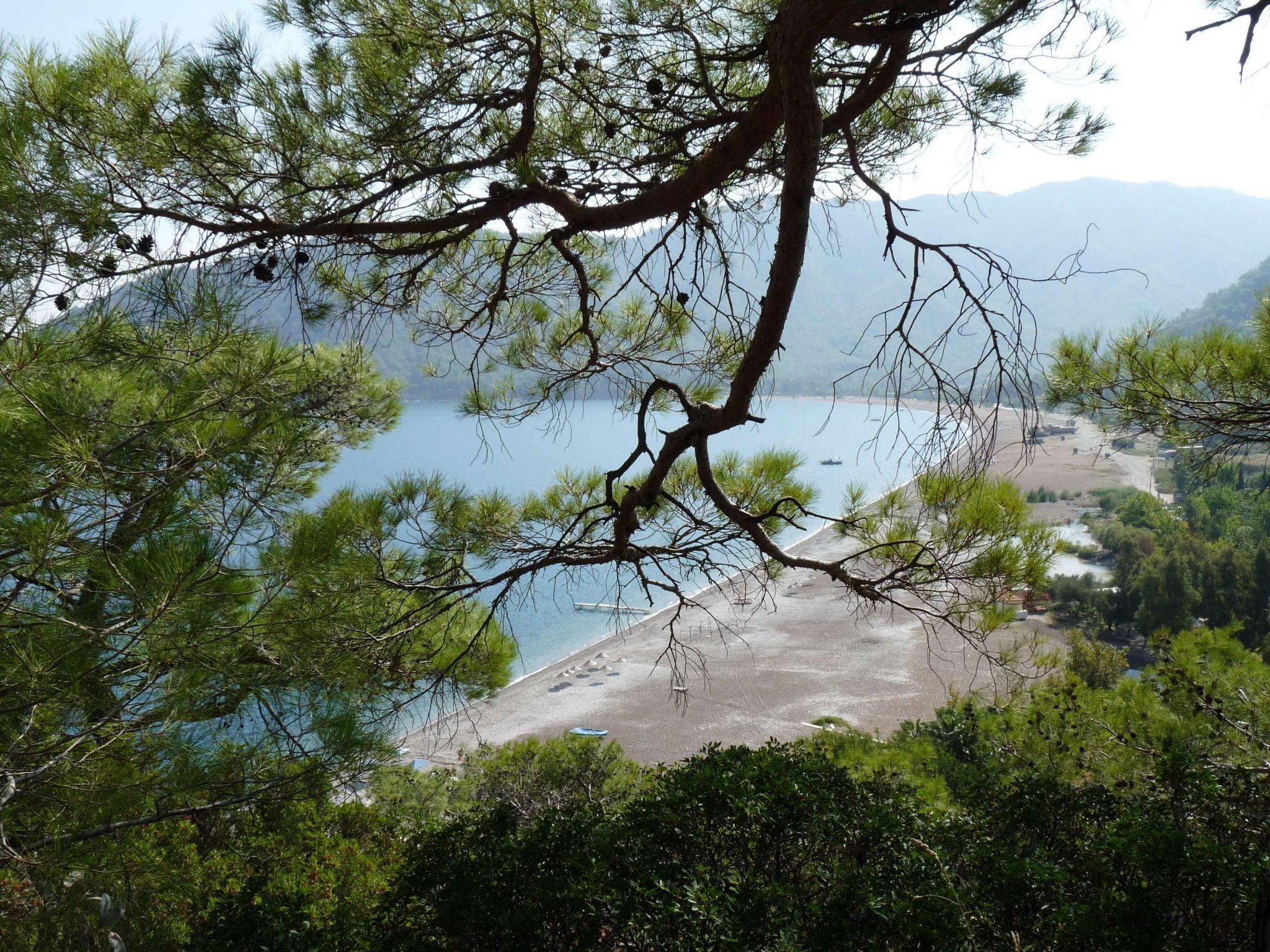 Der Strand von Adrasan an der lykischen Küste